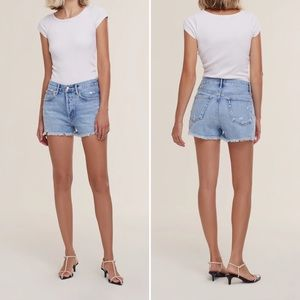 NEW Agolde Parker Cut Off Shorts in Swapmeet